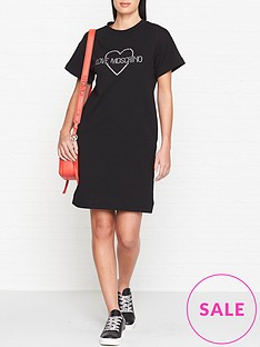 love-moschino-crystal-logo-t-shirt-dress-black