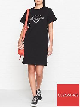 love-moschino-crystal-logo-t-shirt-dress-black