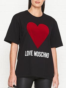 love-moschino-flock-heart-logo-t-shirt-black