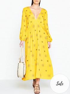 sundress-chicago-sun-embellished-maxi-dress-yellow