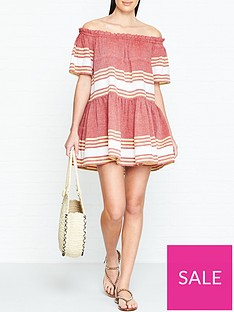 sundress-bella-off-shoulder-stripe-dress-red