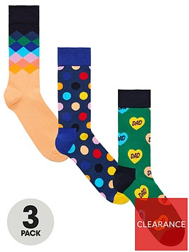 happy-socks-fathers-day-three-pack-sock-gift-box-multi-coloured