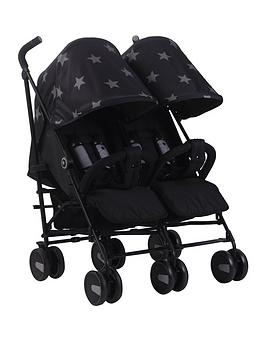 my-babiie-mb22-black-stars-twin-stroller