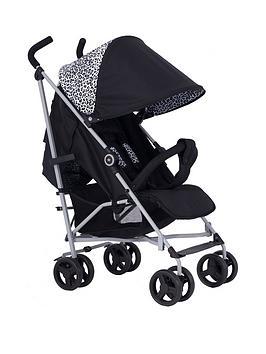 My Babiie My Babiie Dreamiie Mb02 Black Leopard Stroller