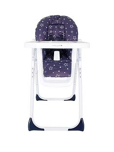 My Babiie My Babiie Abbey Clancy Catwalk MBHC8ACNS Navy Stars Highchair
