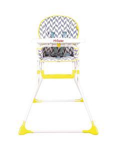 My Babiie My Babiie MBHC1HB Herringbone Compact Highchair