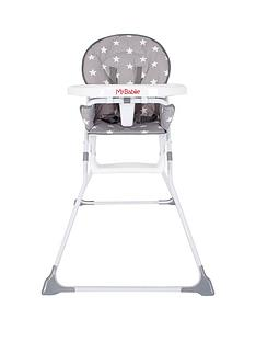 my-babiie-my-babiie-mbhc1gs-grey-stars-compact-highchair