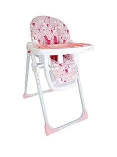 My Babiie My Babiie Katie Piper MBHC8UN Pink Unicorns Premium Highchair