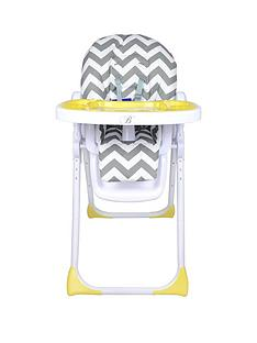 My Babiie My Babiie Billie Faiers MBHC8ZZ Chevron Premium Highchair