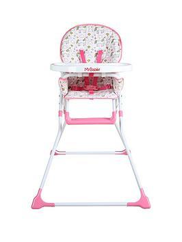my-babiie-my-babiie-mbhc1un-unicorn-compact-highchair