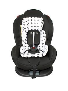 My Babiie My Babiie Group 012 Car Seat- Black Crosses