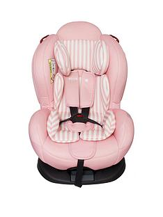 My Babiie My Babiie Group 012 Car Seat- Pink Stripes