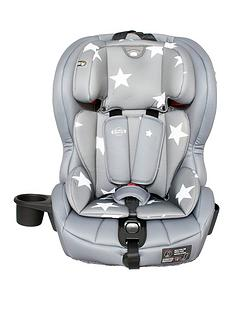 My Babiie Group 123 Car Seat- Grey Stars