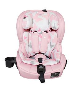 My Babiie My Babiie Group 123 Car Seat- Pink Butterflies