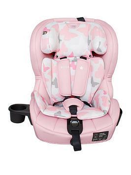 My Babiie Group 123 Car Seat - Pink Butterflies