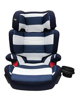 My Babiie My Babiie Group 23 Car Seat- Blue Stripes