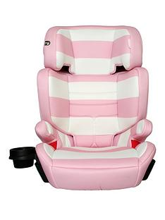 my-babiie-group-23-car-seat-pink-stripes
