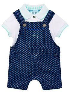 baker-by-ted-baker-baby-boys-geo-dungaree-amp-polo-set-navy