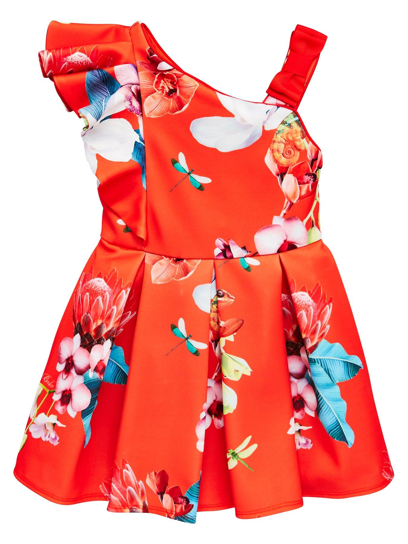 Girls' Clothing (2-16 Years) Dresses Ted Baker Girls Blue Dress Worn Once Age 12-13