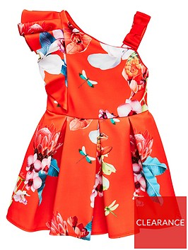 baker-by-ted-baker-girls-scuba-one-shoulder-dress-red