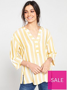 wallis-chambray-stripe-shirt-yellow