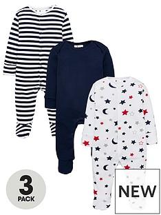 v-by-very-baby-boys-stripe-amp-stars-3-pack-sleepsuits-multi