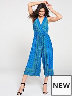 wallis-patchwork-paisley-jumpsuit-blue
