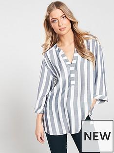 89723e5de347b Wallis Chambray Stripe Shirt - Blue