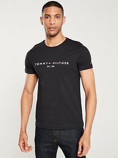 tommy-hilfiger-tommy-logo-t-shirt-black