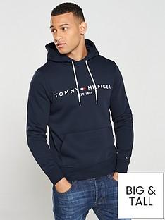 tommy-hilfiger-logo-hoodie-navy