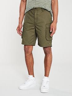 tommy-jeans-washed-cargo-short-khaki