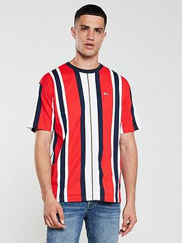 tommy-jeans-vertical-stripe-t-shirt-red