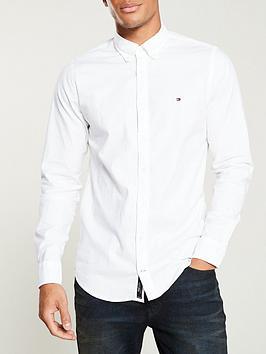 tommy-hilfiger-slim-oxford-shirt-white