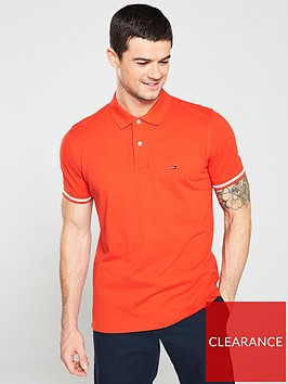 tommy-hilfiger-tipped-logo-polo-shirt-red