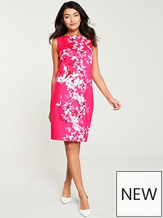 1f8ef9adf07 Wallis Magnolia Scuba Shift Dress - Pink