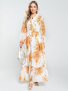 wallis-paisley-shirt-maxi-dress-ivory