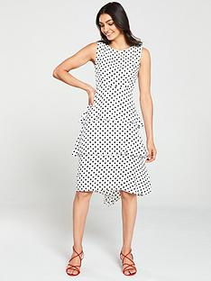 9f19e21cb620 Wallis Spot Tiered Pasadena Dress - Monochrome