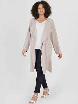 evans-longline-crepe-jacket