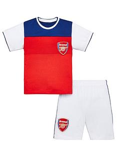 arsenal-football-kit-childrens-shorty-pyjamas-multi