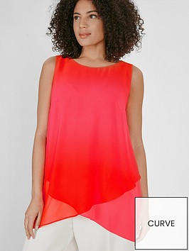 evans-ombre-sleeveless-top