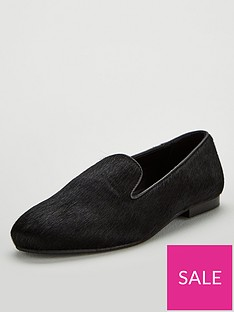 v-by-very-mel-leather-slipper-cut-loafers-black