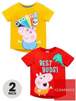 peppa-pig-boys-george-pig-2-pack-fun-amp-best-bud-t-shirts-multi