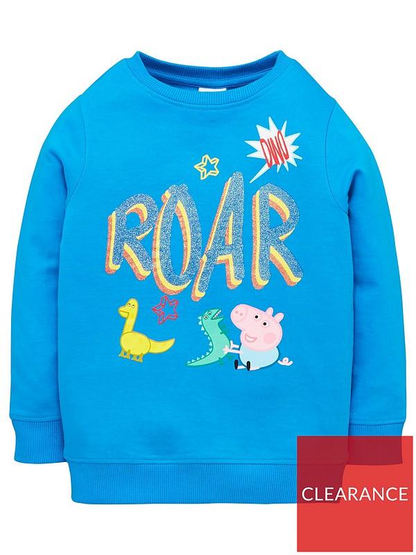 Peppa Pig Boys George Pig Sweatshirt