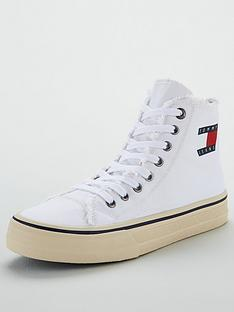 tommy-hilfiger-hightop-frayed-denim-trainers-white