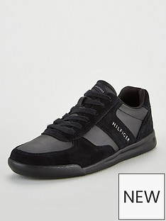 tommy-hilfiger-logo-mix-suede-trainer