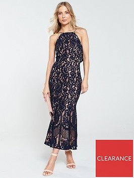 jarlo-dahlia-high-neck-lace-midi-dress-navy