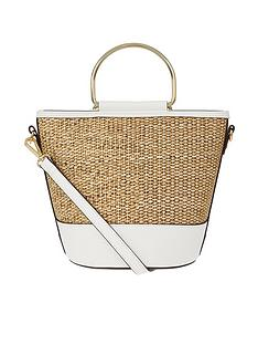 accessorize-mae-metal-handle-bag-white