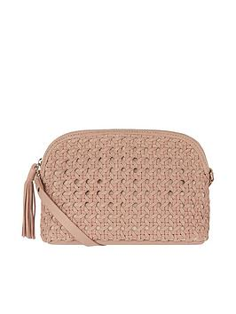 accessorize-ariana-woven-dome-leather-cross-body-bag-nude