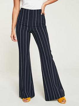 v-by-very-high-waist-flared-trouser-stripe