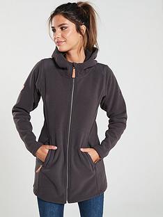 trespass-citizen-long-length-fleece-jacket-charcoalnbsp